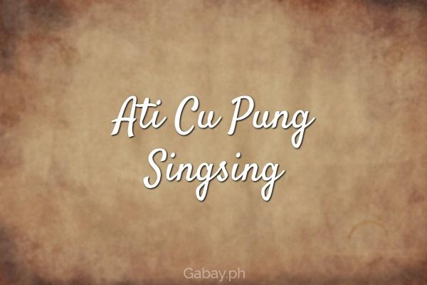 ati cu pung singsing
