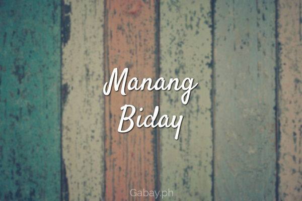 Manang Biday