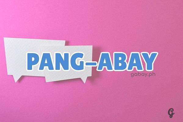 ano ang pang-abay