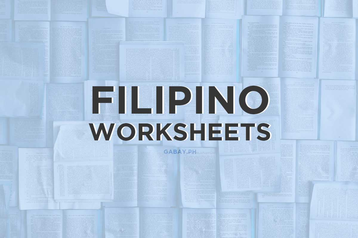 Filipino-Worksheets