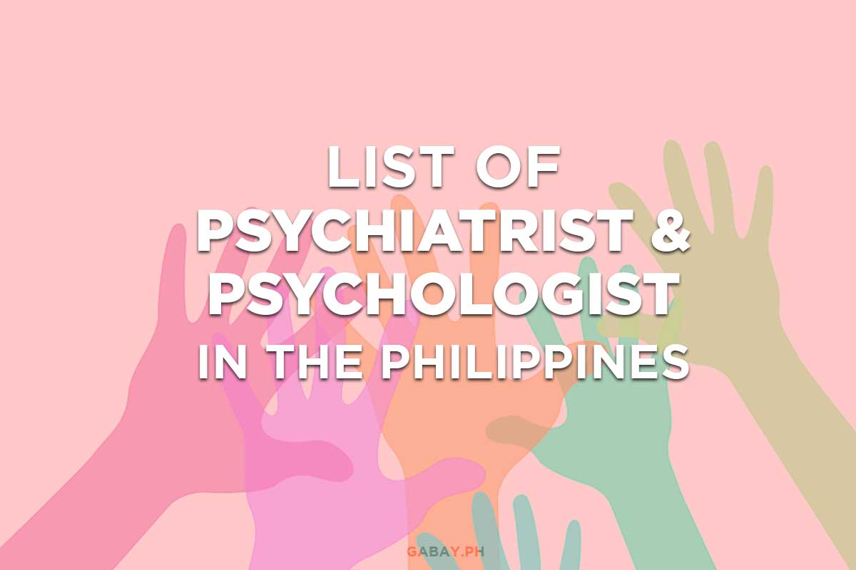 Need Help? List of Psychiatrist and Psychologist in the Philippines