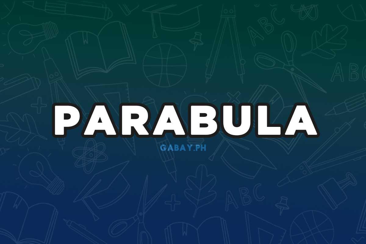 Ano ang Parabula
