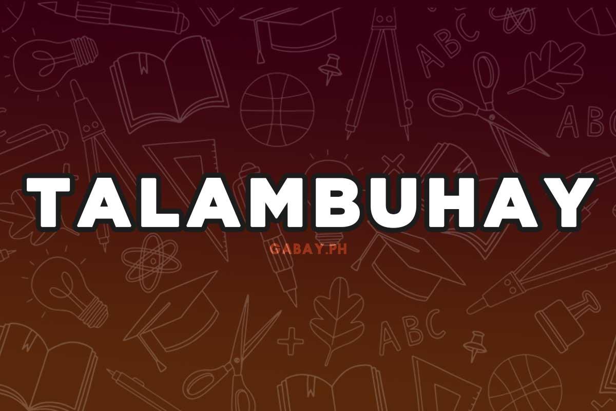 Ano ang Talambuhay