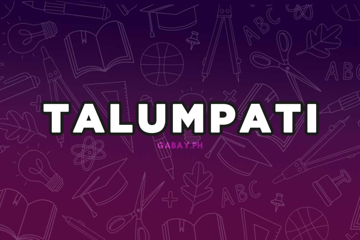 Ano ang Talumpati