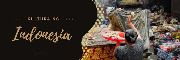 Kultura ng Indonesia