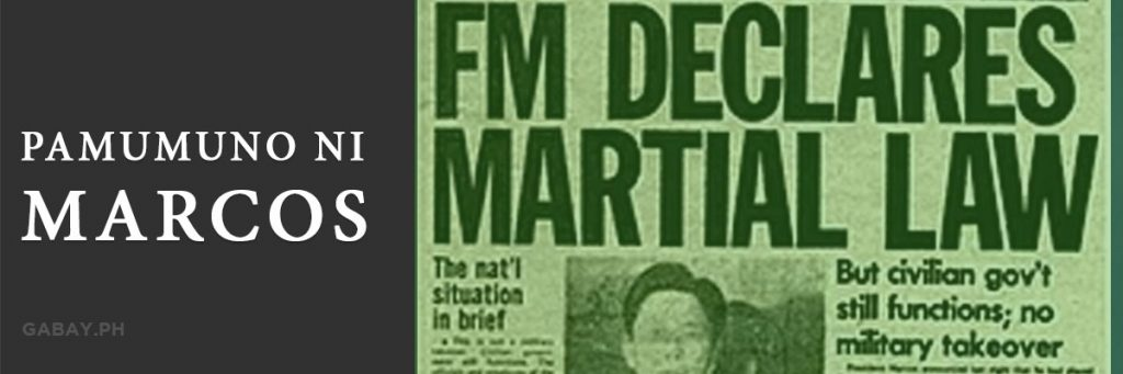 Kasaysayan ng Pamumuno ni Ferdinand Marcos