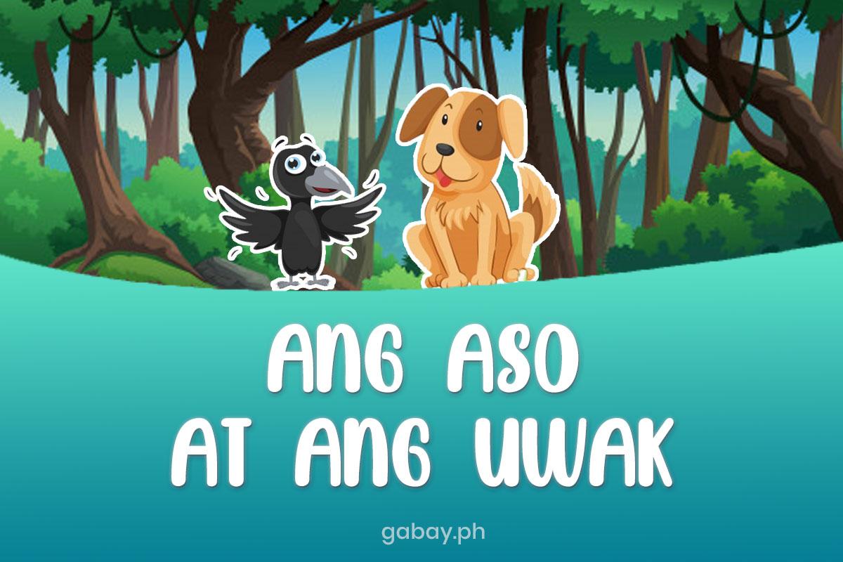 ang-aso-at-ang-uwak-pabula