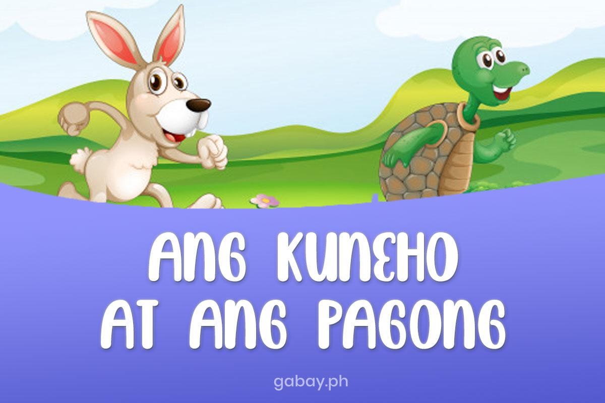 ang-kuneho-at-ang-pagong-pabula
