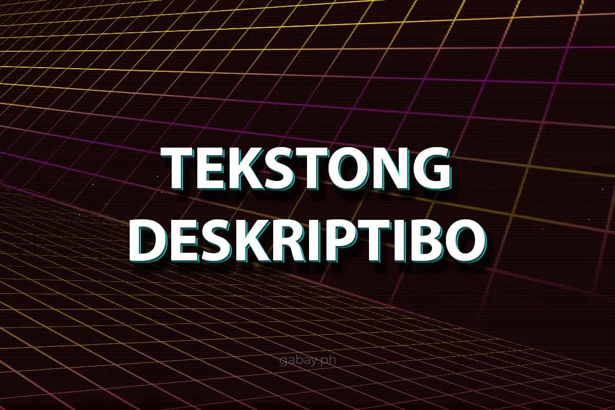 tekstong-deskriptibo