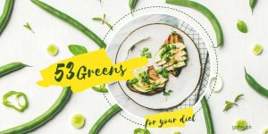 Green Food List: 53 Greens to Include in Your Diet